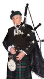 Formal bagpiper Royalty Free Stock Image