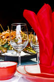 Formal Banquet Royalty Free Stock Photography