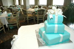 Formal Birthday Cake Stock Photography