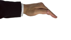 Formal business hands Stock Images