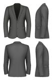 Formal Business Suits Jacket for Men. Vector illustration Royalty Free Stock Image