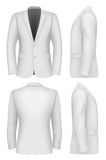 Formal Business Suits Jacket for Men. Vector illustration Stock Photo