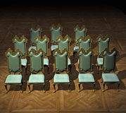 Formal Chairs Stock Photo