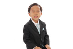 Formal Child. Little Child In A Formal Attire Royalty Free Stock Photos