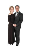 Formal Couple. A couple dressed for a formal event Royalty Free Stock Photography