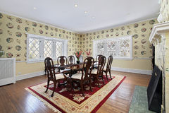 Formal dining room Stock Photo