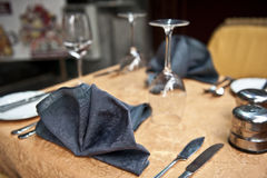 Formal Dining Setting Royalty Free Stock Image