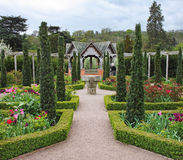 Formal English Garden Stock Photography