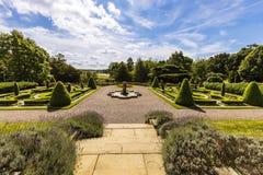 Formal English garden. Royalty Free Stock Image