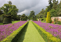 An Formal English Landscaped Garden Stock Photo