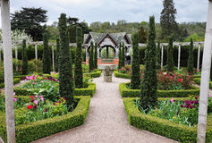 An Formal English Landscaped Garden Royalty Free Stock Images