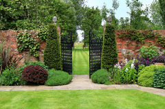 An Formal English Landscaped Garden Royalty Free Stock Photo