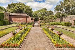 Sidmouth Connaught Gardens UK Royalty Free Stock Photo