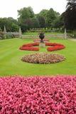 Formal Flower Garden Stock Images