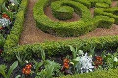 Formal garden Stock Images