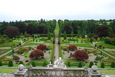 Formal Garden Stock Photo