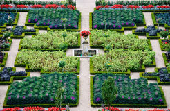 Formal Garden - Loire Valley - France Royalty Free Stock Photography