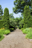 Formal Garden Path Royalty Free Stock Images