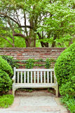 Formal garden at spring Stock Photos