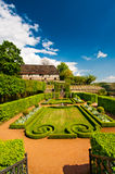 Formal garden in spring, Germany Stock Photos