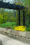 Formal Gardens. The sensory gardens at Aden House Aberdeenshire Stock Photography