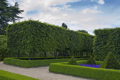 Formal gardens Stock Photography
