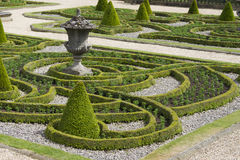Formal gardens Stock Image