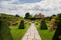 Formal gardens at Hampton Court Stock Photo