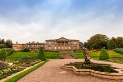 Landscaped gardens in Tatton Park. Stock Photography