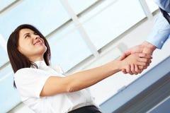 Formal handshake Royalty Free Stock Image