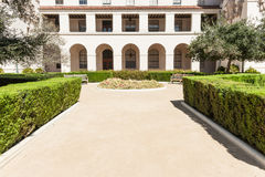 Formal landscaped garden. Royalty Free Stock Photo