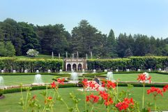 Formal Longwood Gardens Royalty Free Stock Photography