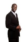 Formal Man on White Stock Photo