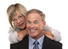 Formal mature couple Royalty Free Stock Photography