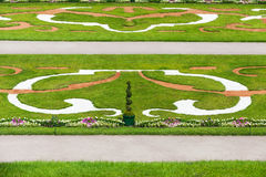 Formal Palace gardens Royalty Free Stock Images