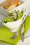 A formal place setting Stock Images