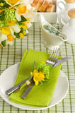 A formal place setting Stock Photo