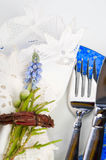 A formal place setting Stock Image