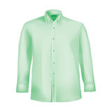 Formal shirt with button down collar Stock Image