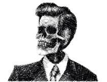 Formal skull Stock Photos