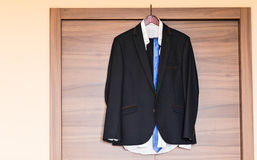 Formal suit in fashion concept Royalty Free Stock Image
