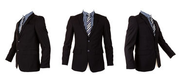Formal suit isolated Royalty Free Stock Photography
