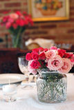 Formal Table. Table set for formal meal Royalty Free Stock Images