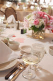 Formal Table Setting royalty free stock photos