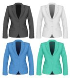 Formal work wear. Ladies suit jacket . Stock Image