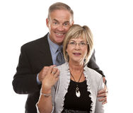 Formale fällige Paare Lizenzfreie Stockbilder