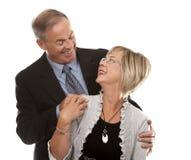 Formale fällige Paare Stockfoto