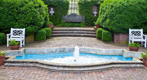 Formale Gärten Lizenzfreies Stockbild