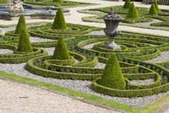 Formale Gärten stockbild