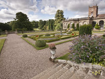 Formale Kasten-Gärten Stockfoto